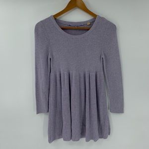 Anthropologie Knitted & Knotted Sweater Babydoll